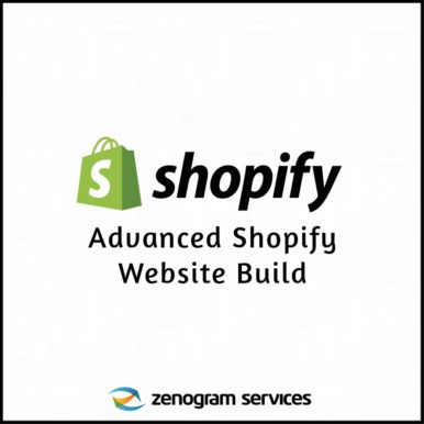 Zenogram Services - Advanced Shopify Website Build New