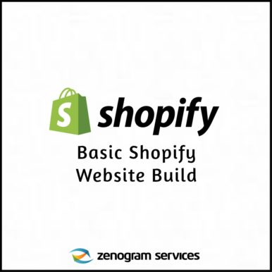 Zenogram Services - Basic Shopify Website Build New